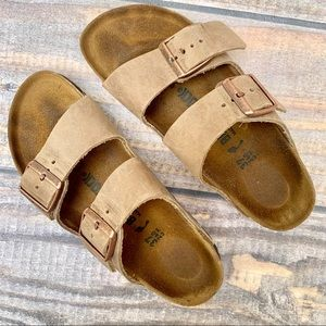 Birkenstock | Tan Leather Birkenstock's Strappy 37